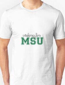 Victory for MSU Unisex T-Shirt
