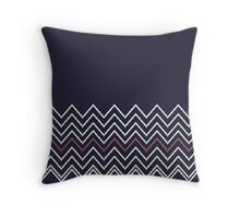 Beautiful Aztec / Islandic Inspired Luxury dark blue Folk Collection 2016 Throw Pillow