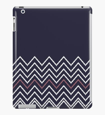 Beautiful Aztec / Islandic Inspired Luxury dark blue Folk Collection 2016 iPad Case/Skin
