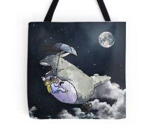 Totoro-Watercolor Tote Bag