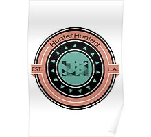 Hunter Hunted - Circle Design Poster