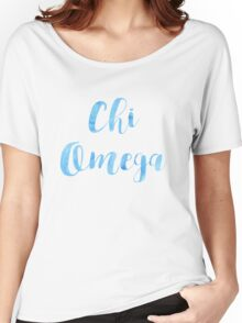 Chi Omega Women's Relaxed Fit T-Shirt