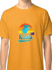 Koala Aussi Sunset Classic T-Shirt