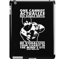 Visualize and Actualize iPad Case/Skin