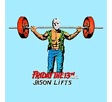 Gym Time Jason Photographic Print
