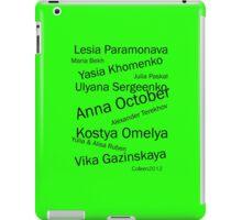 EASTERN EUROPEAN TOP FASHION DESIGNERS iPad Case/Skin