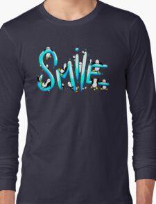 Smile Penguin Long Sleeve T-Shirt