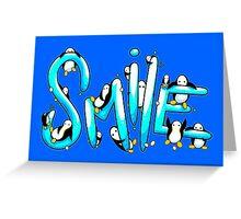 Smile Penguin Greeting Card