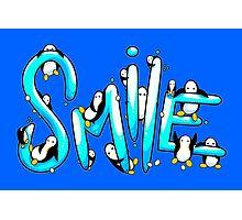 Smile Penguin Photographic Print