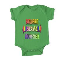 Beware Serial Hugger One Piece - Short Sleeve