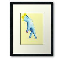 Predator Hand Framed Print