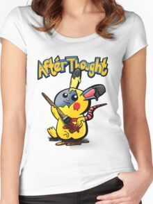 Thunder Mouse... Suit Up!! Women's Fitted Scoop T-Shirt