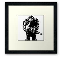 Doom guy Framed Print