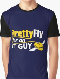 Pretty Fly for an IT Guy Geek Programmer Graphic T-Shirt