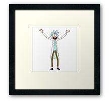 Rick - Rick and Morty Framed Print