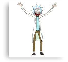 Rick - Rick and Morty Canvas Print