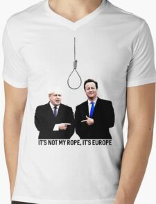 Boron Mens V-Neck T-Shirt