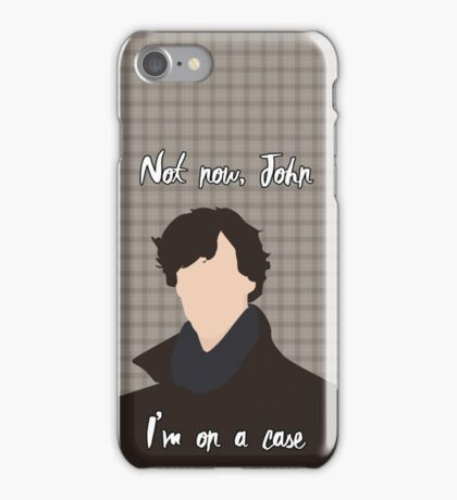 I'm on a case iPhone Case/Skin