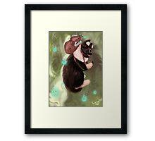 Jimmy Cat Framed Print