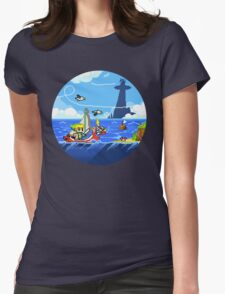 Zelda - Wind Waker Advanced Womens Fitted T-Shirt