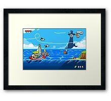 Zelda - Wind Waker Advanced Framed Print