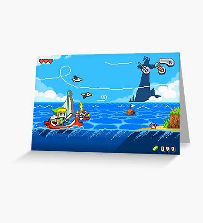 Zelda - Wind Waker Advanced Greeting Card