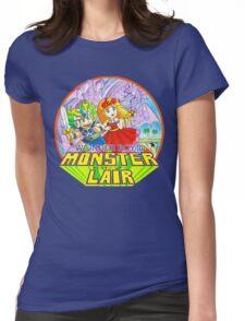 Wonder Boy Womens Fitted T-Shirt