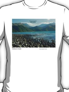 Kaikoura Coastline - South Island T-Shirt
