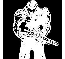 Doom guy Photographic Print