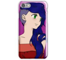 Anime side shave iPhone Case/Skin