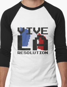 Vive La Resolution! Men's Baseball ¾ T-Shirt