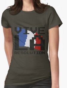 Vive La Resolution! Womens Fitted T-Shirt