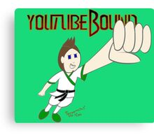 Youtubebound  Jack Canvas Print