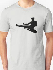 Karate jump kick Unisex T-Shirt