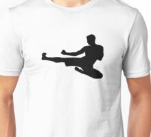 Karate jump kick Unisex T-Shirt