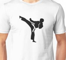 Karate fighter Unisex T-Shirt
