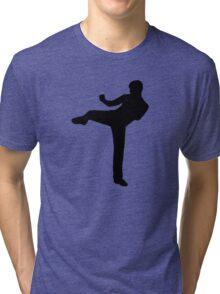 Kickboxing Tri-blend T-Shirt