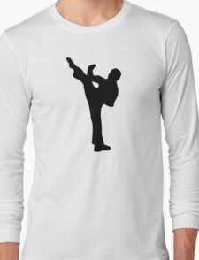 Martial arts fighter Long Sleeve T-Shirt