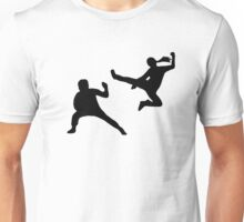 Kung fu fighter Unisex T-Shirt