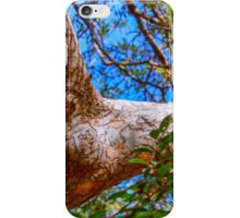 Chinese oak reaching out iPhone Case/Skin