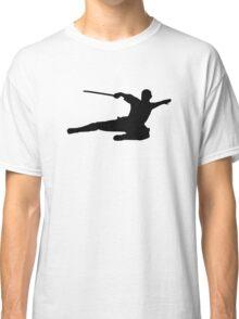 Martial arts kick fighter Classic T-Shirt