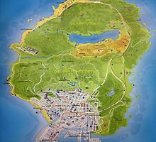 Gta 5 Map by Watchdog555