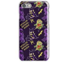 Stephanie Brown Pattern iPhone Case/Skin