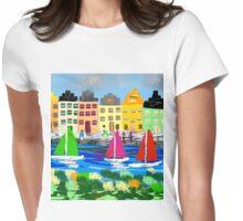 Copenhagen by Roger Pickar, Goofy America Womens Fitted T-Shirt