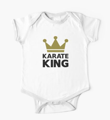 Karate king champion One Piece - Short Sleeve
