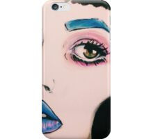 Melanie Sketch iPhone Case/Skin
