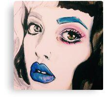 Melanie Sketch Canvas Print