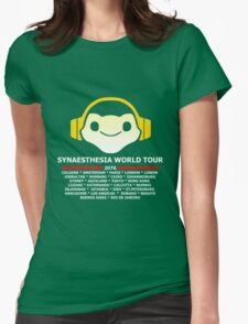 Synaesthesia World Tour Womens Fitted T-Shirt
