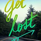 Get Lost on Oregon Roads by Leah Flores