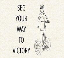 Seg Your Way to Victory! Zipped Hoodie